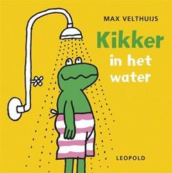 Kinderboeken badboekje met geluid Kikker in het water