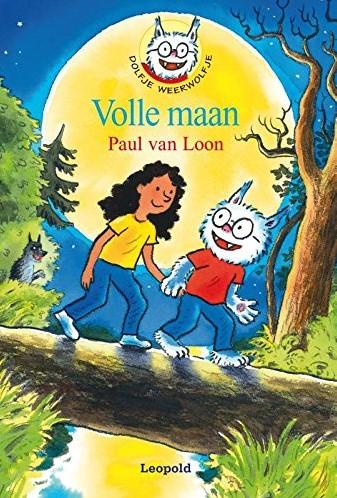 Kinderboeken  leesboek Dolfje Weerwolfje Volle Maan