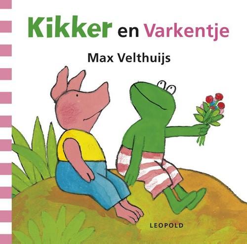 Kikker en Varkentje (karton). 2+