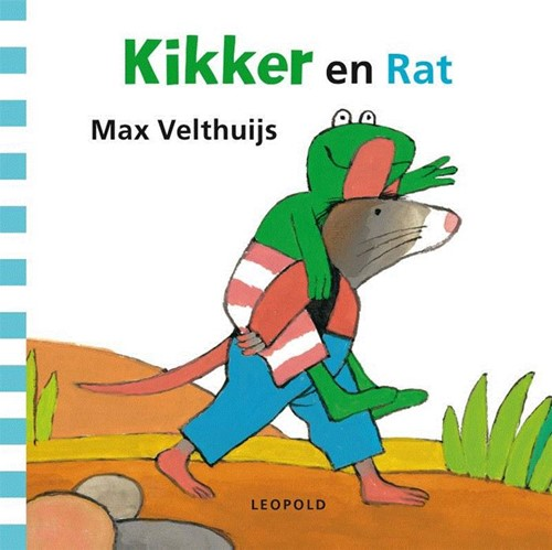 Kikker en Rat (karton). 3+