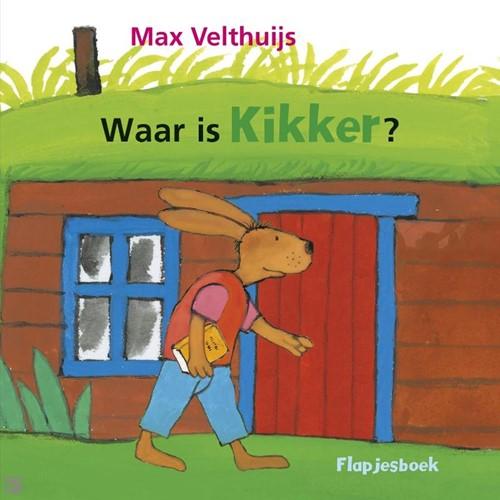Kinderboeken  voorleesboek Waar is kikker flapjesboek