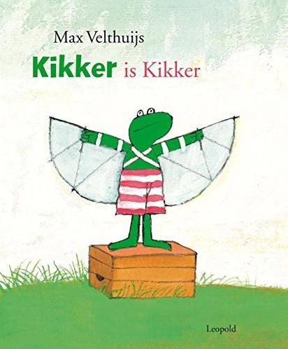 Kinderboeken prentenboek Kikker is Kikker.