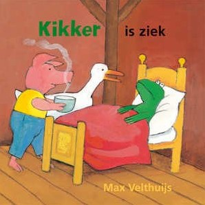 Kikker is ziek (karton). 2+