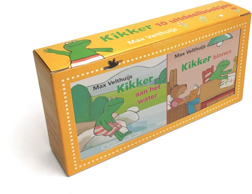 Leopold prentenboek Kikker uitdeelboekjes