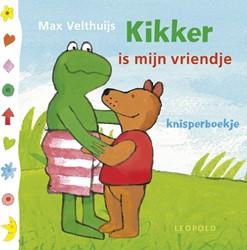 Leopold babyboek knisperboekje Kikker is mijn vriendje