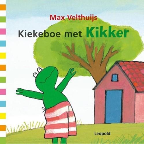 Kiekeboe met Kikker (karton met magn.).