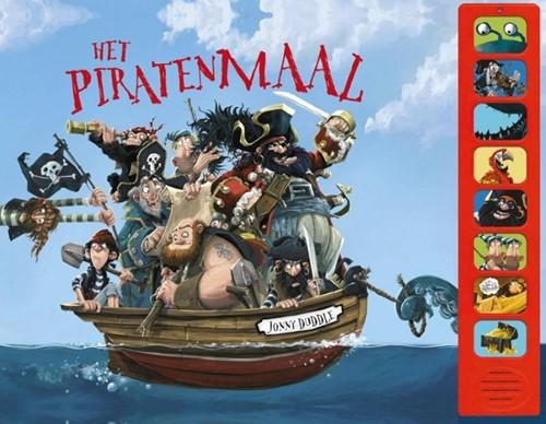 Het piratenmaal (geluidenboek). 4+