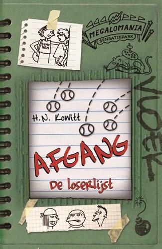 De Fontein Het leven van een Loser - De loserlijst 3: Afgang. 10+