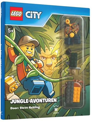 Lego City Leesboek Jungle-avonturen