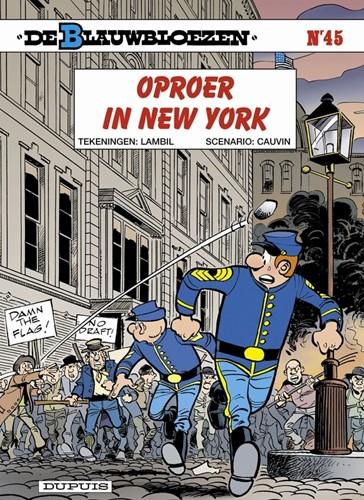 Stripboeken  De Blauwbloezen - Oproer in New York - Nummer 45
