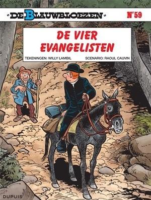 Stripboeken  De Blauwbloezen - De vier evangelisten - Nummer 59