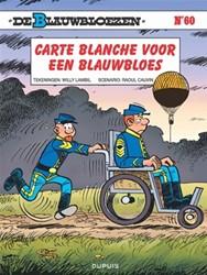 Stripboeken  blauwbloezen carte blanche voo