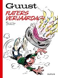 Stripboek Guust Flater Flaters verjaardag