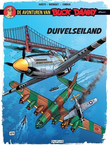 Stripboeken de avondturen van Buck Danny Duivelseiland nummer 4