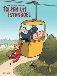 Stripboek Robbedoes Tulpen uit Istanboel