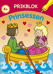 Kinderboeken  doeboek Prikblok prinsessen