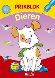 Kinderboeken  doeboek Prikblok dieren