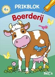 Kinderboeken  doeboek Prikblok boerderij