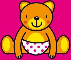 Kinderboeken  babyboek Linnenboekje knuffelbeer