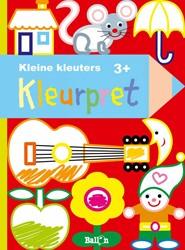 Kinderboeken  kleurboek Kleurpret 3+