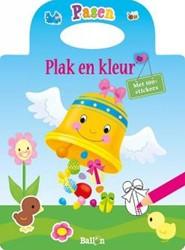 Kinderboeken  doeboek Pasen plak en kleur