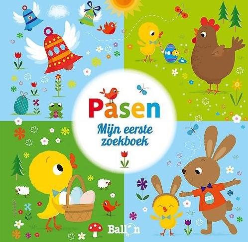 Kinderboeken  doeboek Pasen mijn eerste zoekboek