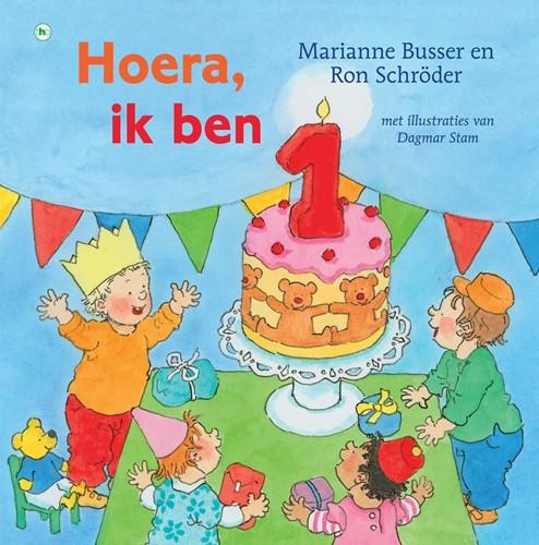 Kinderboeken  voorleesboek Hoera, ik ben 1