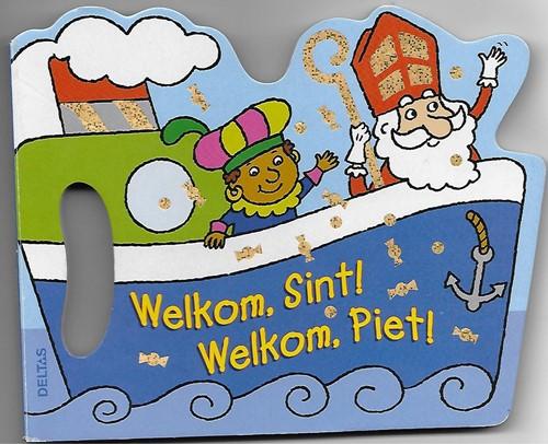 Deltas voorleesboek Welkom, Sint! Welkom, Piet!
