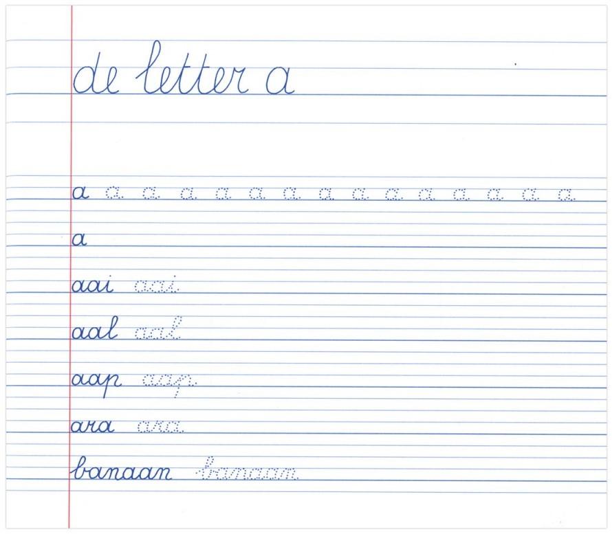 Wonderbaarlijk Deltas Mijn oefenschrift schrijven (6-7 j.) 1ste leerjaar / groep FU-24