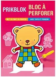 Kinderboeken  doeboek Prikblok jong