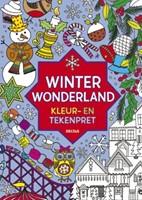 Deltas  kleurboek Winter Wonderland kleur en tek