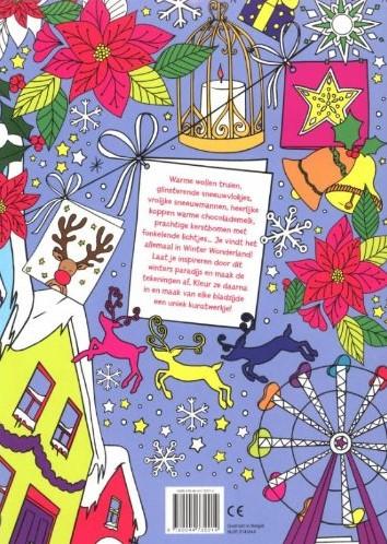 Deltas  kleurboek Winter Wonderland kleur en tek-2