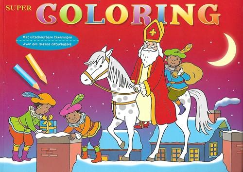 Deltas kleurboek Super coloring