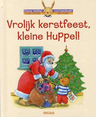 Kinderboeken  voorleesboek Vrolijk kerstfeest kleine huppel!