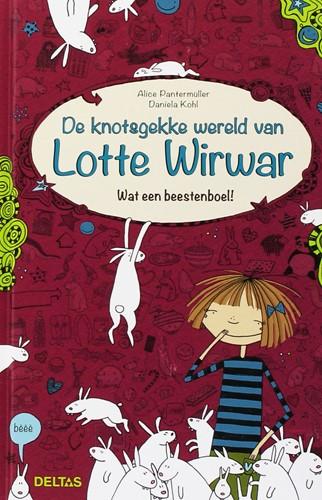 Deltas De knotsgekke wereld van Lotte Wirwar - Wat een beestenboel