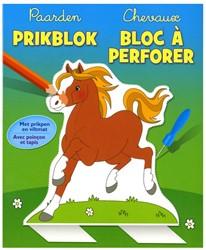 Deltas  knutselspullen Prikblok Paarden