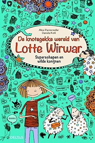 Deltas De knotsgekke wereld van Lotte Wirwar - Superschapen en wilde konijnen