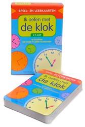 Deltas  leerkaarten Ik oefen met de klok