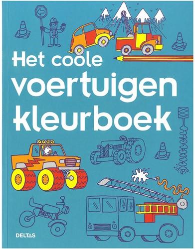Deltas Het coole voertuigen kleurboek-1