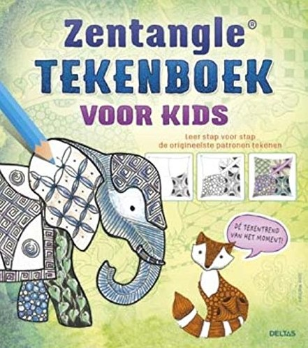 Deltas Zentangle tekenboek voor kids