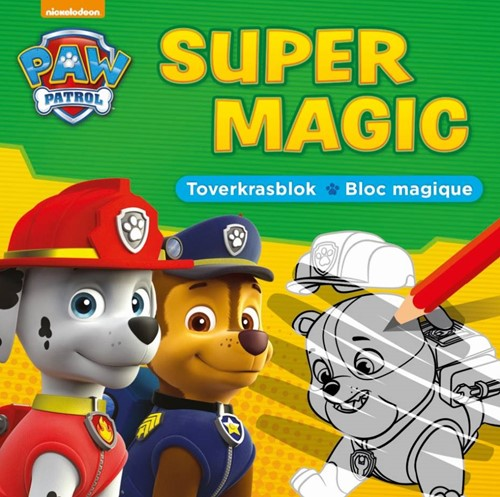 Deltas Paw Patrol Super Magic toverkrasblok