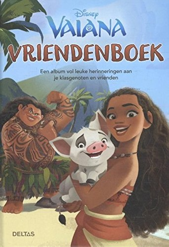 Deltas  doeboek Vriendenboek Disney Vaiana