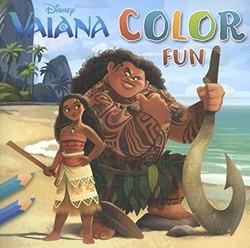 Deltas  kleurboek Disney Vaiana