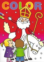 Deltas kleurboek Color Sinterklaas