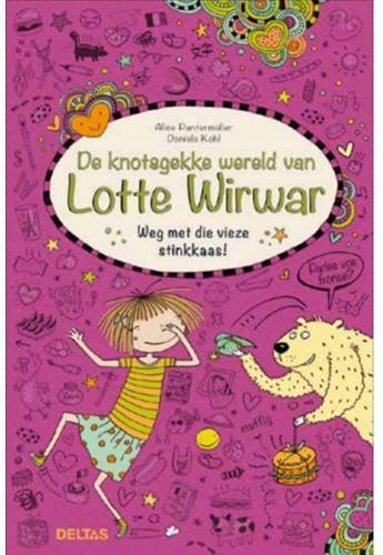 Deltas De knotsgekke wereld van Lotte Wirwar - Weg met die vieze stinkkaas!
