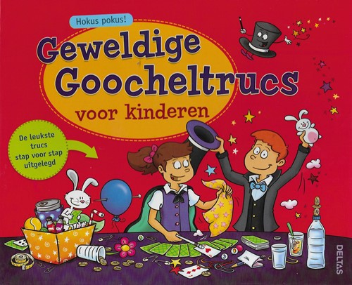 Deltas educatieboek geweldige goocheltrucs voor kinderen