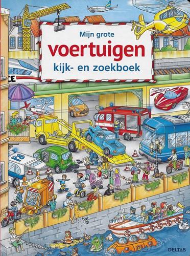 Deltas doeboek mijn grote voertuigen kijk- en zoekboek