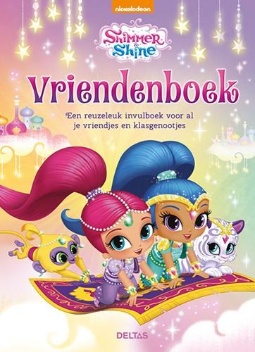 Deltas Shimmer and Shine vriendenboek