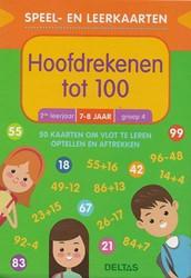 Deltas speel en leerkaarten hoofdrekenen tot 100 7-8 jaar