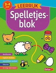 Deltas educatieboek leerijk speeltjesboek 3 - 4 jaar